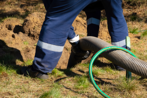 Storm sewer line cleaning in Chicago, Illinois