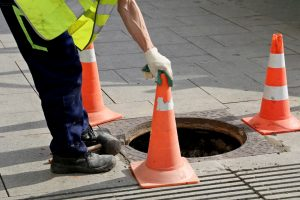Sewer line cleaning service in Joliet, Illinois