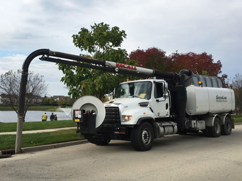 Hydro jetting service company in Chicago Heights, Illinois